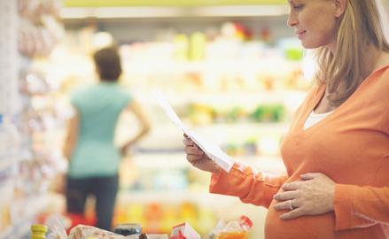 Mamás con necesidades alimenticias especiales.