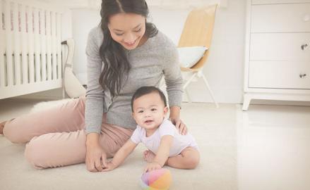 Alivia los gases de tu bebé