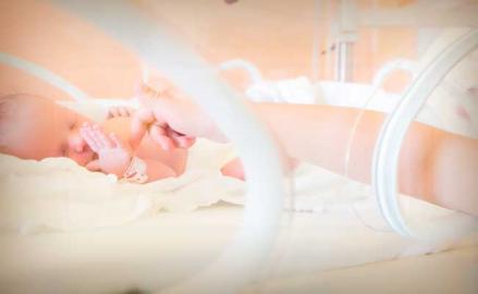 El desafío de tener bebés prematuros
