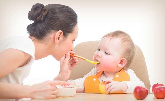 La alimentación de tu bebé de 6 meses